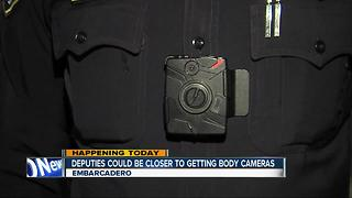 Sheriff's deputies may soon be equipped with body cameras