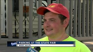 Local Residents Plan for Parking at the State Fair - Video
