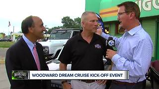 Woodward Dream Cruise kick off event - Video