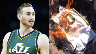 Gordon Hayward Fans BURN His Jersey After Signing with the Celtics - Video