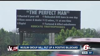 Muslim group will put up positive billboard - Video