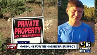 Manhunt continues for 14-year-old murder suspect - Video