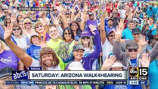 Arizona's Walk4Hearing to take place on Saturday - Video
