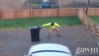 She Secretly Records Husband Taking Out The Trash. Shares It To Facebook, Instantly Goes Viral - Video