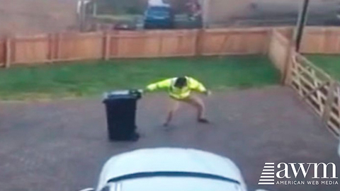 She Secretly Records Husband Taking Out The Trash. Shares It To Facebook, Instantly Goes Viral