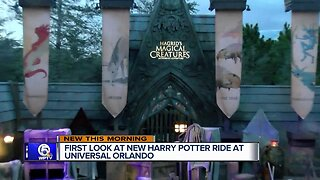First Look at Universal's new Harry Potter roller coaster