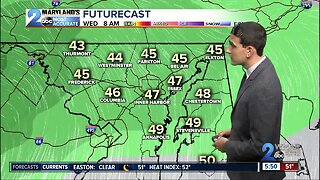 Rain To Whipping Winds Wednesday