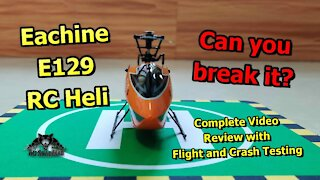Eachine E129 4CH 6-Axis Gyro Altitude Hold Flybarless RC Helicopter RTF