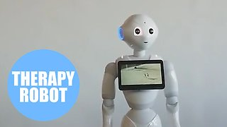 Council becomes first in UK to introduce a robot as part of social care team - Video