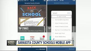 Sarasota County Schools launches new mobile app to stay up to date on school news - Video