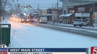 Winter Weather Advisory In Effect Across Tennessee - Video