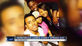 Demetrious Lowe's family speaks out after violent arrest in Milwaukee - Video