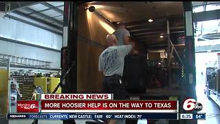 Helping Harvey victims: Indiana Task Force One water rescue team heads to Texas - Video