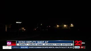 KCSO Deputy shot at