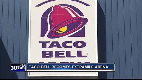 Taco Bell Arena could soon have a new name