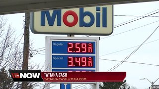 Gas prices on the decline ahead of Thanksgiving holiday weekend