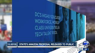 Denver releases redacted Amazon HQ2 bid with scant details on locations - Video