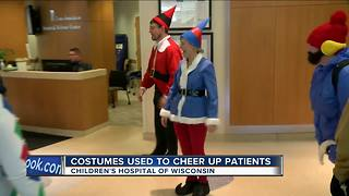 Doctors wear Halloween costumes for kids at Children's Hospital - Video
