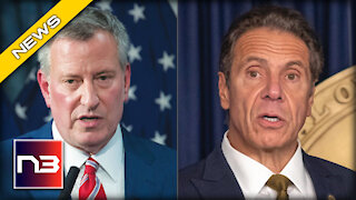 NYC Mayor de Blasio RIPS Governor Cuomo on MSNBC after his TRUE COLORS Come to Light