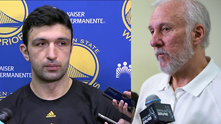 Zaza Pachulia Blames Coach Pop for DEATH THREATS Against His Family - Video