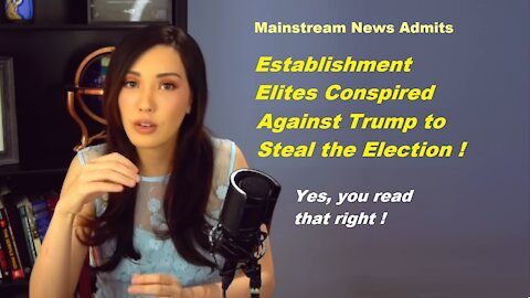 Mainstream News Admits Massive Leftist Conspiracy to Steal Election - Lauren Chen [mirrored]