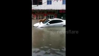 Severe floods cause chaos in southern China - Video