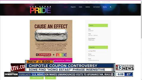 Some people upset by Chipotle coupons