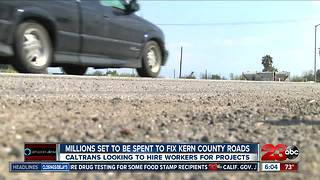 Kern County roads to get a face lift - Video