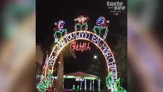 Tampa Chick-fil-A lights up for Christmas | Taste and See Tampa Bay - Video