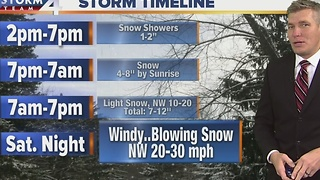 Timeline: Winter Storm Warning