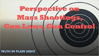 Perspective on Mass Shootings, Gun Laws, and Gun Control - Truth in Plain Sight