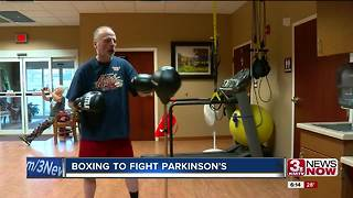 Boxing to Fight Parkinson's, KMTV 3/7 - Video