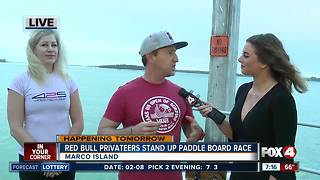 Red Bull Privateers search for treasure in stand up paddle board race - 7am live report - Video