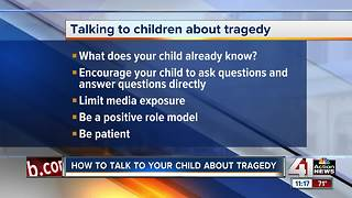 How to talk to your child about tragedy - Video