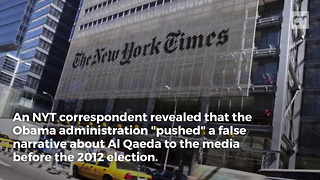 Obama Lied About Al Qaeda to Get Reelected