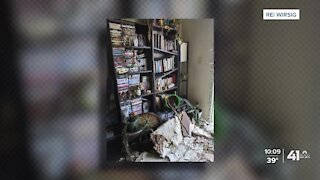 Waldo Heights resident's apartment ransacked after fire