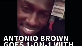 Antonio Brown Goes 1-on-1 With NBA's Hassan Whiteside - Video