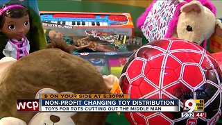 Toys for Tots distribution shift caught local nonprofits by surprise