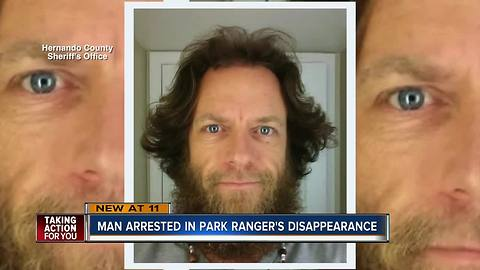 Boyfriend of missing Florida park ranger told authorities he'd be wanted for killing his girlfriend