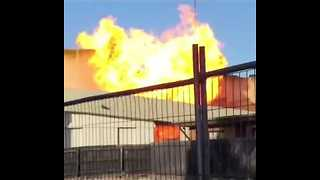 Moment of Gas Explosion Seen at Mall in Melbourne Suburb - Video
