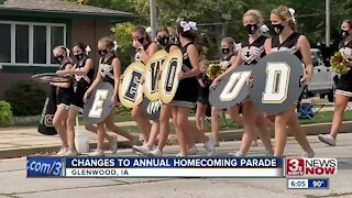 Glenwood, Iowa holds annual homecoming parade