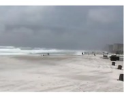 Storm Alberto's Eye Passes Over Panama City Beach - Video