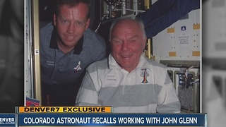 Colorado astronaut recalls working with John Glenn - Video
