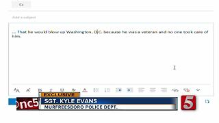 Murfreesboro Police Investigate White House E-mail Threats - Video