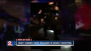 Body cam video from officer-involved shooting released - Video