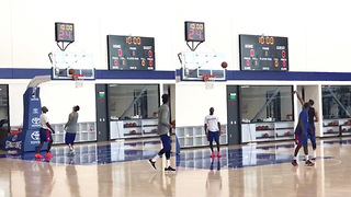 Sixers FEDS Players Look Like Sh*t in First Practice - Video