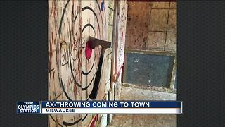 Ax throwing sport coming to Bay View's 'Bounce'