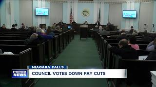 NF council votes down pay cuts - Video