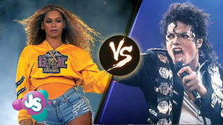 Beyonce vs Michael Jackson: Who Is The Greatest Performer Of ALL TIME!? | JS - Video