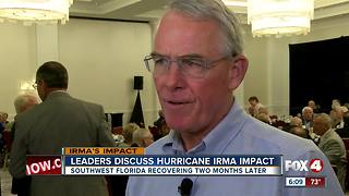 Leaders discuss Irma's impact - Video
